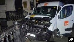 Cảnh sát London ngày 10/6/2017 công bố hình chiếc xe van dùng trong cuộc tấn công khủng bố trên Cầu London ngày 3/6/2017.