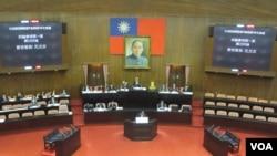 台灣立法院。(美國之音張永泰拍攝)