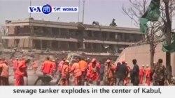 VOA60 World - Deadly Truck Bomb Rocks Kabul