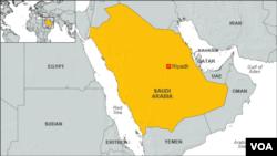 ແຜນທີ່ Saudi Arabia