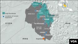 Iraqi Kurdish area