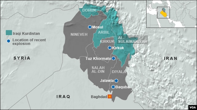 Iraqi Kurdish area