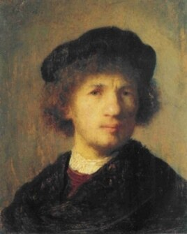 This 1630 self-portrait of Rembrandt, stolen in Stockholm in 2000, was later recovered in Copenhagen.