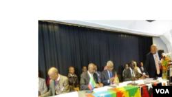 Konferensiin Tumsa Uummatootaa Ka Bilisummaa fi Dimookiraasii Paarlaamaa Awurooppaa Keessatti Geggeessame