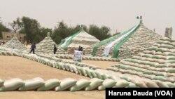 Dalar shinkafa a Maiduguri, Borno