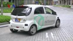 Driverless Cabs Now Work the Streets of Singapore