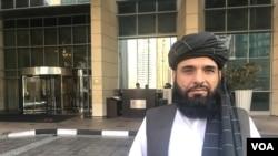 طالبان کے ترجمان سہيل شاہين بھی افغان امن مذاکرات کا حصّہ تھے۔