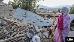 مناطق زلزله زده ازگله کرمانشاه