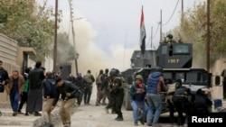 ارتش عراق توانست داعش را در موصل شکست دهد.