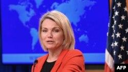 خانم ناوئرت هماکنون سخنگوی وزارت خارجه امریکا است