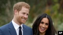 برطانیہ کے شہزادی ہیری اور ان کی منگیتر میگن مارکیل