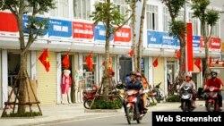 """Chính quyền Hà Nội muốn thực hiện sự """"đồng nhất"""" trên phố Thái Thịnh."""