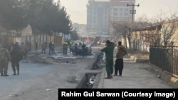 Aho igisasu cyaturikiye i Kabul muri Afuganistani