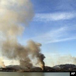 11月23日韩国延坪岛遭到北韩炮火袭击