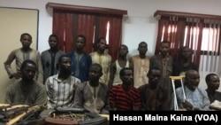 Arrested Armed Bandits in Zamfara State