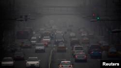 2013年1月29日,北京的严重雾霾