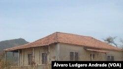 Casa onde Amílcar Cabral viveu em Cabo Verde, Achada Falcão