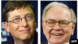 Билл Гейтс и Уоррен Баффетт
