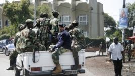 'Yan tawayen M23 su na yin sintriri a garin Goma