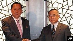 베이징에서 남북 제2차 비핵화회담을 가진 남북 6자회담 수석대표들