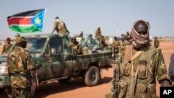 南蘇丹士兵