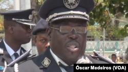 Domingos Nascimento, comandante da Polícia, São Tomé e Príncipe