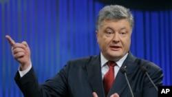 Presiden Ukraina Poroshenko