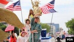 В Вашингтоне прошел парад по случаю Дня независимости