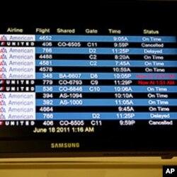 電腦故障造成美國聯航旅客無法登機