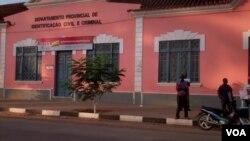 Angola Malanje Departamento provincial de identificação civil e criminal