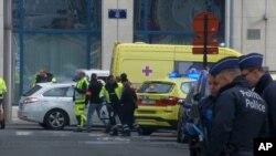 En images : les attentats de Bruxelles