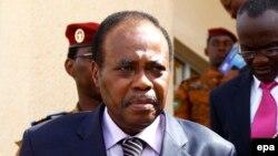 Edem Kodjo, nommé facilitateur de l'Union africaine pour le dialogue politique en RDC. epa / LEGNAN KOULA