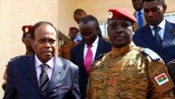 Le procureur général Laurent Poda au micro de Zoumana Wonogo.