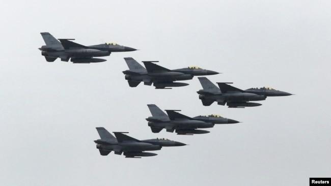 Máy bay chiến đấu F-16 của Đài Loan.