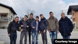 Migranti iz Alžira (Foto: BIRN BiH)