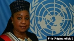 Fatma Samba Diouf Samoura of Senegal has been named FIFA's first female, non-European secretary general.