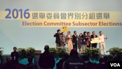 上屆2016年選舉委員會界別分組選舉民主派贏取325席,但是今屆選委會選舉在北京修改選舉制度之後,民主派參選人幾乎絕跡,有學者認為影響選舉的代表性及認受性 (美國之音/湯惠芸)
