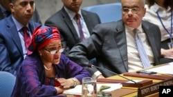 Amina Mohammed, naibu katibu mkuu wa Umoja wa Mataifa