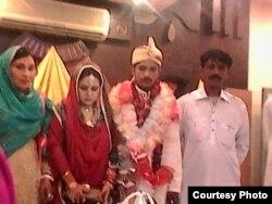 مدثر کی شادی کے موقع کی تصویر