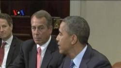 Pidato Tahunan Obama akan Sorot Defisit AS - VOA untuk Kabar Pasar