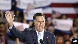 Mitt Romney ປະກາດຮັບໃຊຊະນະເລືອກຕັ້ງຂັ້ນຕົ້ນ 5 ລັດ ເມື່ອວັນອັງ ຄານວານນີ້