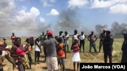 Cidadãos de Benguela revoltados