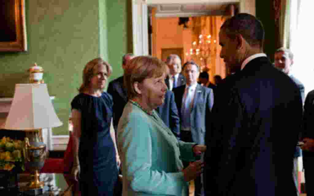 1. - La canciller alemana, Ángela Merkel.