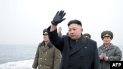Lider norte-coreano Kim Jong Un (March 7, 2013)