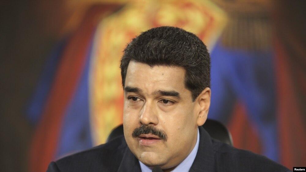 Nicolas Maduro, Caracas, 17 février 2016