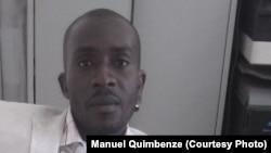 Miguel Quimbenze, do Movimento Estudantes Angolanos