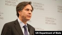 토니 블링큰 미 국무부 부장관 (자료사진)