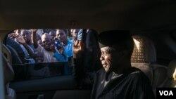 Mataimakin Shugaban Kasa Yemi Osinbanjo A Katsina Yayinda Yaje Jaje Kan Iftila'in Ambaliyar Da Ya Auku
