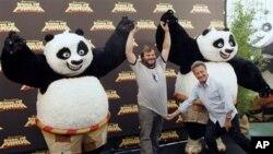 《功夫熊猫》续集在中国上映后再次打破票房记录