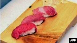 Cá ngừ vây xanh được ưa chuộng để làm sushi